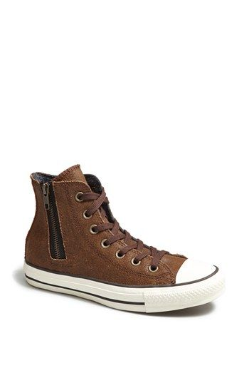 Converse Chuck Taylor®  Aviator  Side Zip Leather High Top Sneaker (Women)  available at  Nordstrom e10ff92eb