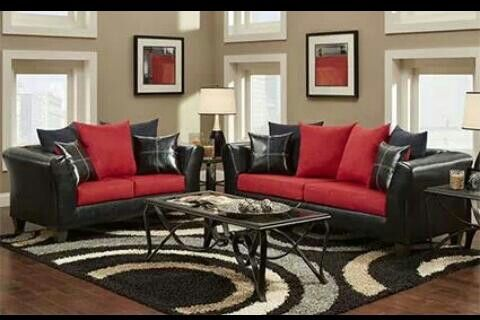 Living Room Set Red Living Room Decor Black And Red Living Room