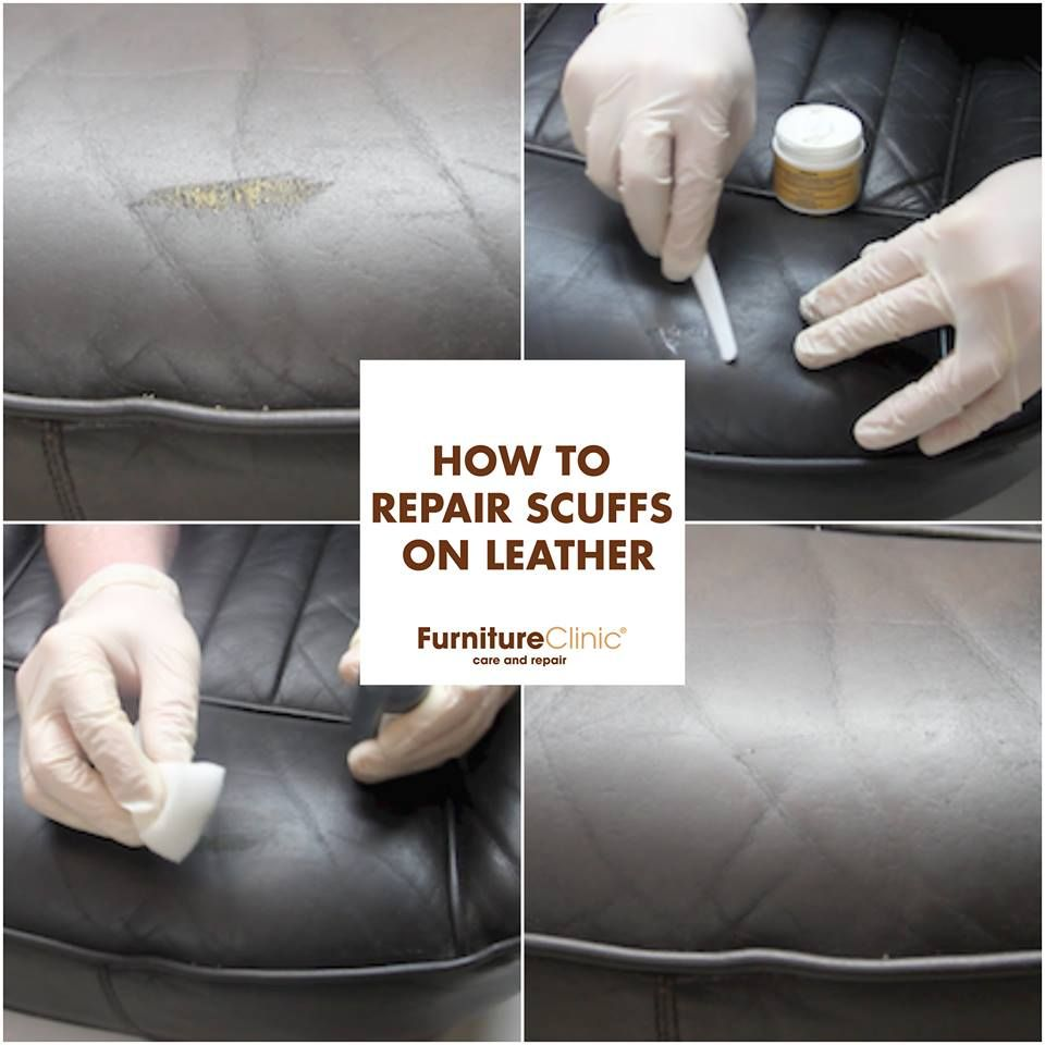 How To Repair Scuffs On Leather Scuffs Or Scratches On Your Leather Car Seat Or Sofa Make Diy Leather Repair Leather Couch Repair Leather Furniture Repair