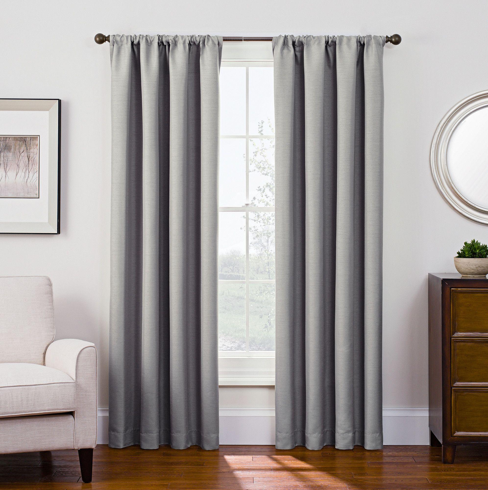 Jacqueline Blackout Single Curtain Panel