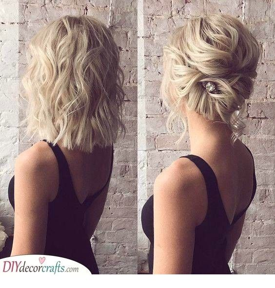 Trendy 100 Hairstyles For Special Occasions Short Wedding Hair Medium Length Hair Styles Hairstyles For Medium Length Hair Easy