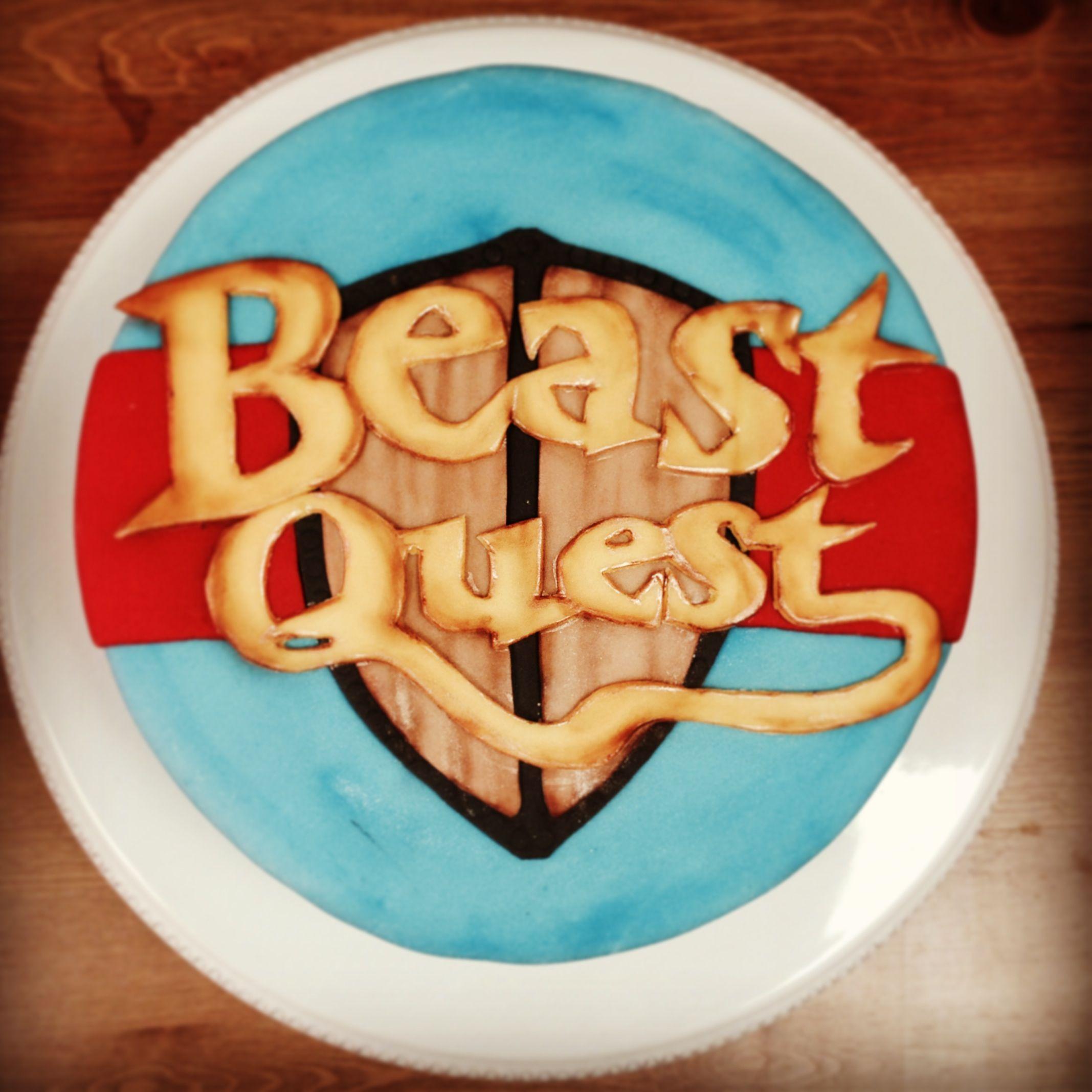 Beast quest birthday cake kids birthday party