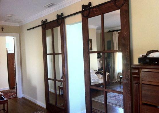 interior glass sliding door | ... Interior Doors Design Ideas & Review » Antique  sliding glass interior - Antique Interior Doors Design Ideas & Review House To Home