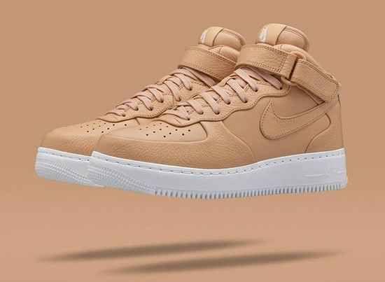 NikeLab Air Force 1 Mid Tan   Nike air