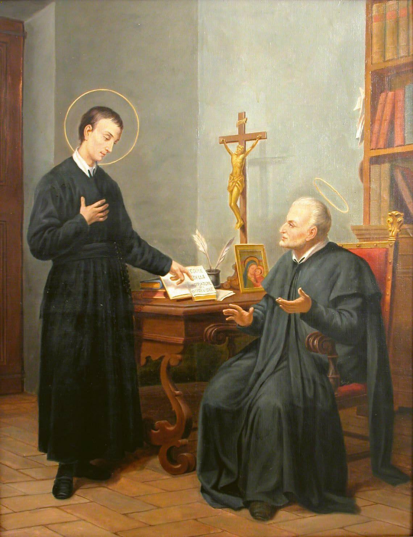 Saint Gerard And Saint Alphonsus Arte Catolica Imagens