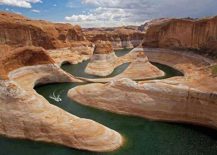 Glen Canyon, between Utah and Arizona