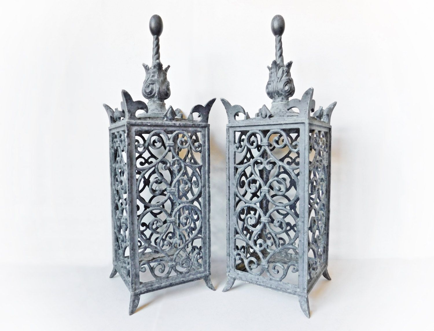 reserved for lisa, outdoor garden lanterns, cast metal lanterns