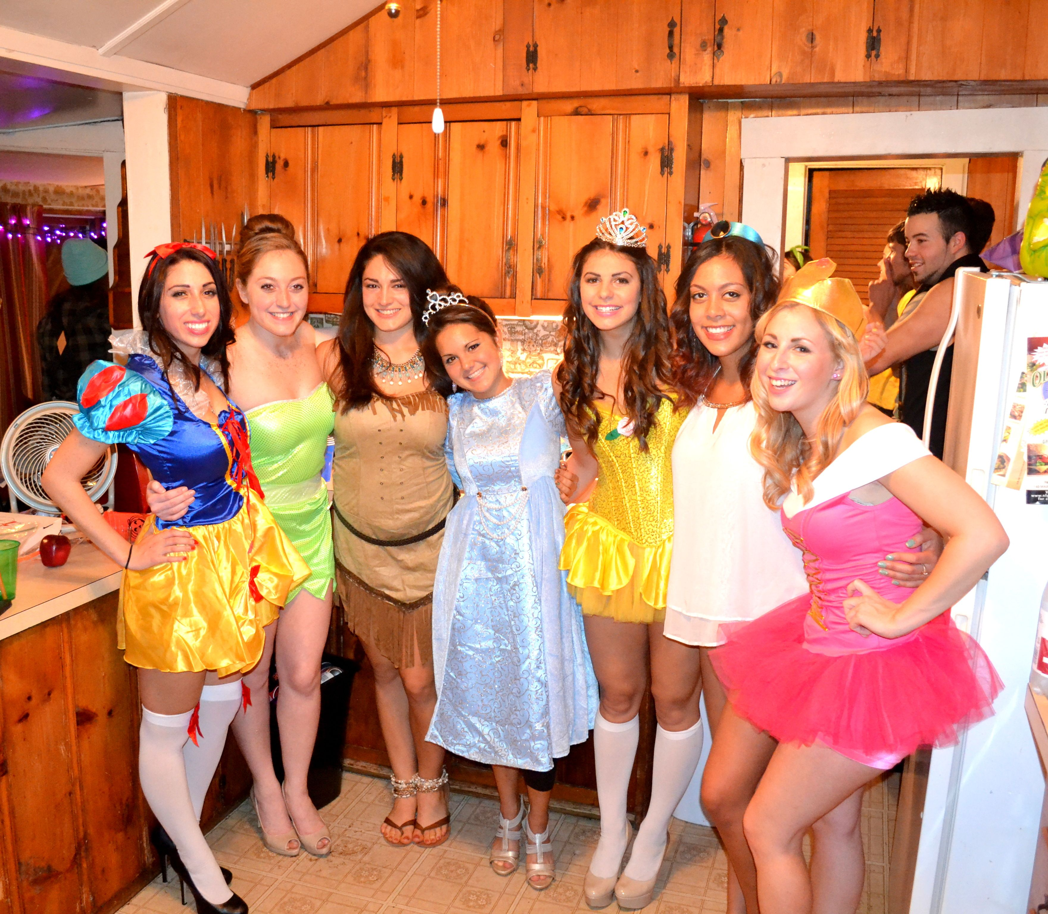 disney princess costumes! group costume idea Princess