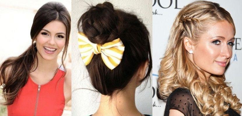 Peinados f ciles de hacer para tu d a a d a http www - Peinados de moda faciles de hacer en casa ...