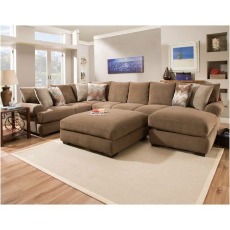Corinthian Wynn Sectional (Model SECWYNN)  sc 1 st  Pinterest : corinthian furniture sectional - Sectionals, Sofas & Couches