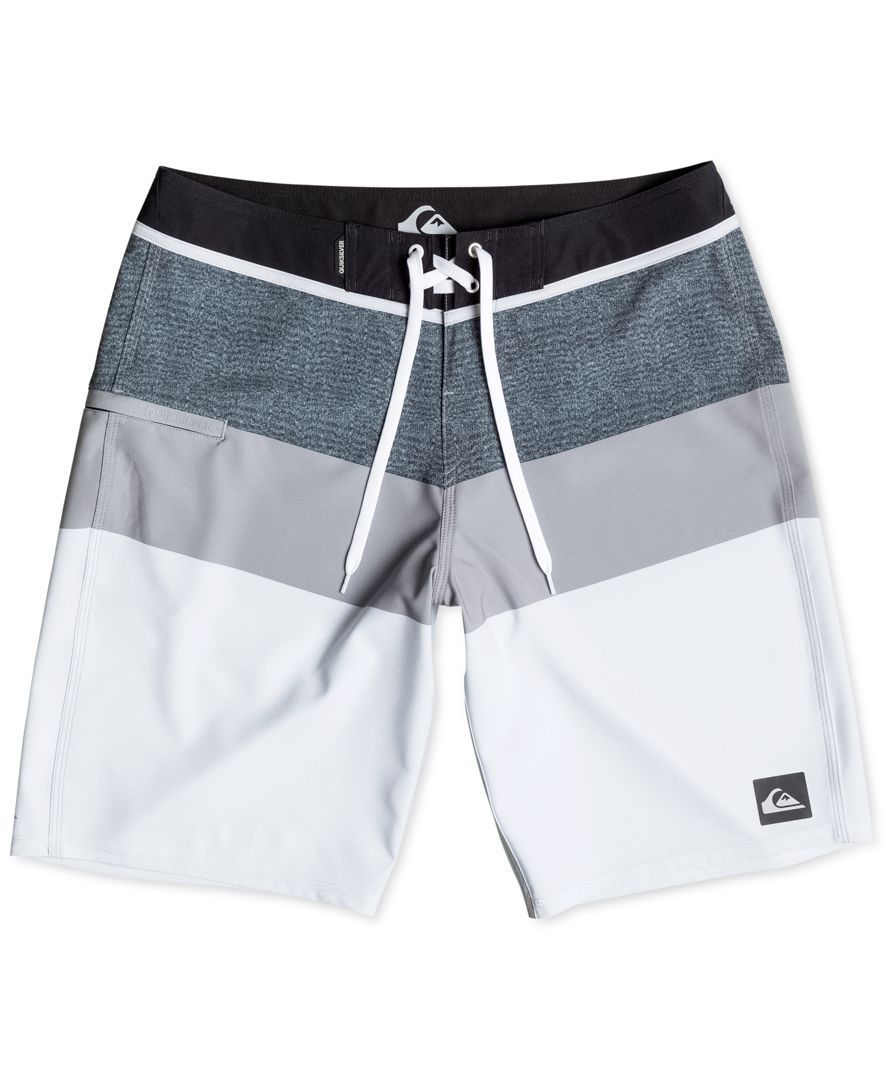 Quiksilver Men s Colorblocked Swim Trunks   for my man in 2019 ... aa1594bc451