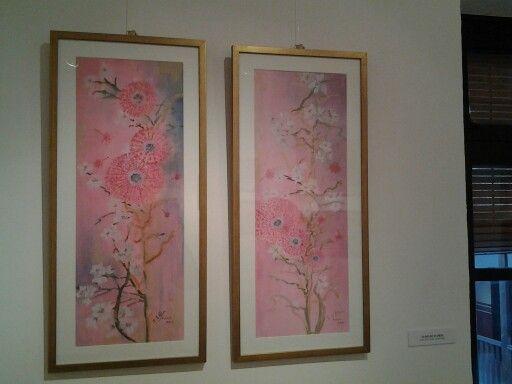 Exposición del Renacimiento al Florecimiento. María Isabel de Alba, pintamialma #florecimiento