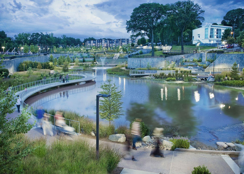 Historic Fourth Ward Park Landscape Architect Landscape Waterfront Architecture