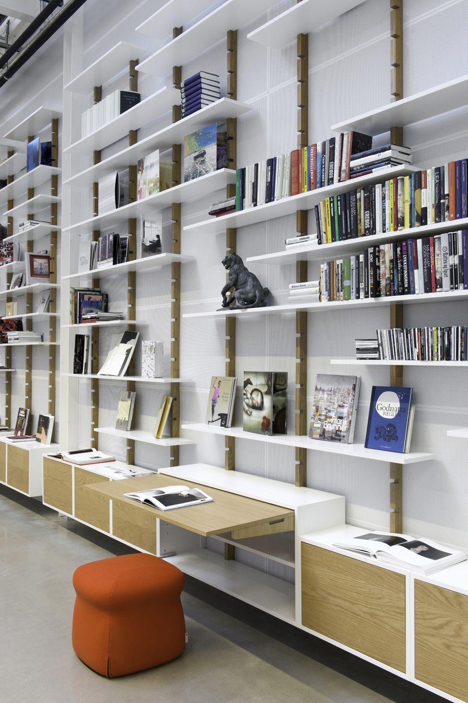 Purnorsk Abel 06 Trehus Inspiration Pinterest Shelf Design  # Bibliotheque Placo Design