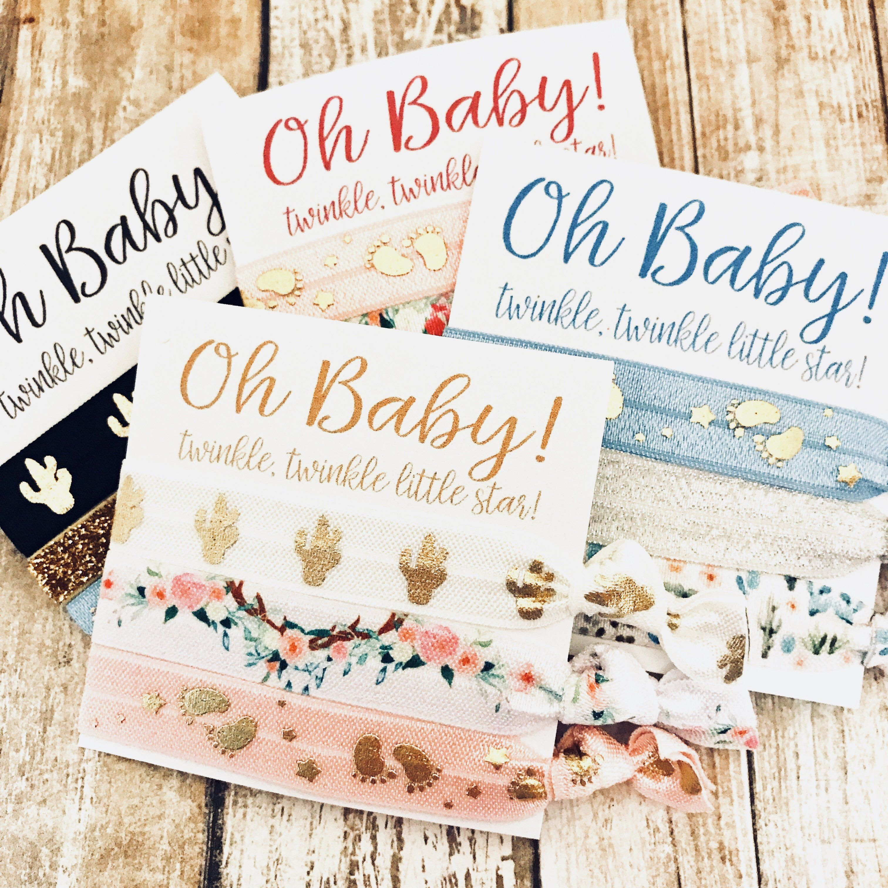 OH Baby Baby Shower Favors