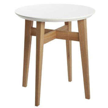 Brookfield 3 Piece Nest Of Table White Side Tables Table Furniture