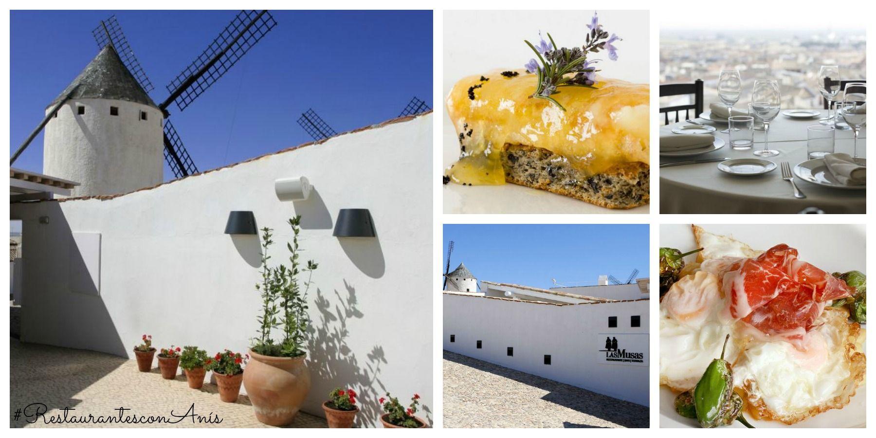 En el #RestaurantesconAnís Las Musas en Campo de Criptana, Ciudad Real, podrás descubrir la auténtica cocina manchega. Tras degustar unas migas, un buen pisto y unos huevos con puntilla, ¿empezamos la sobremesa con un chupito digestivo de #AnísdelMono?
