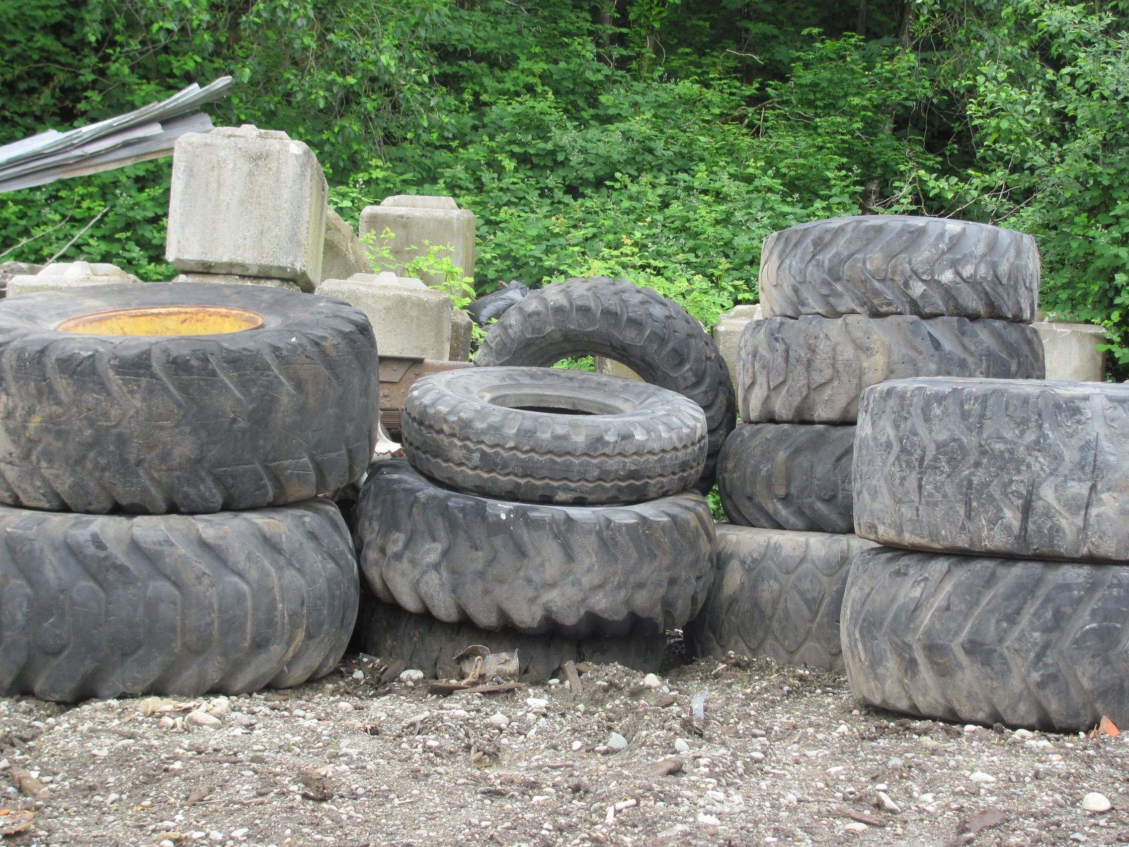 Large selection of Used Heavy Equipment Tractor Tires