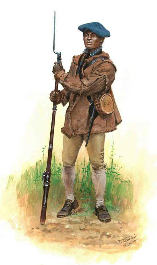 African American Soldier Of The 4th New York Regiment As