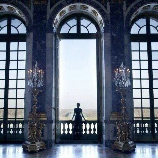 Castle Balcony Aesthetic