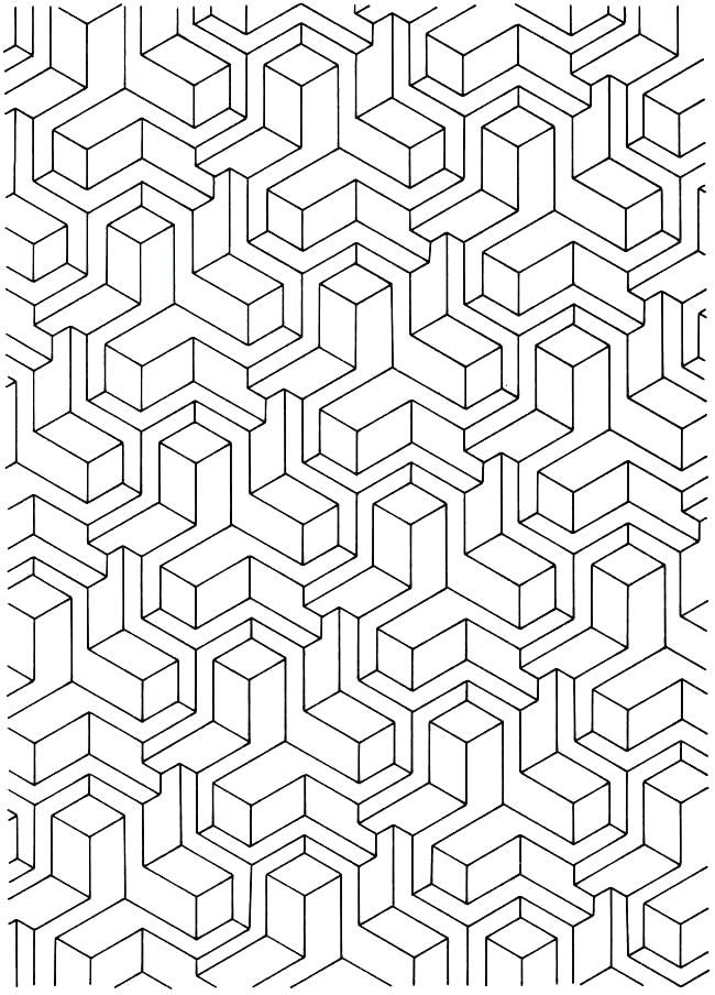Coloring Pages Tessellations Coloring Pages Colouring Free Coloring Tessellation Shapes Worksheets Geometrische Malvorlagen Muster Malvorlagen Bilder