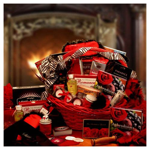 Naughty Nights Couples Romantic Gift Basket Www Englishteastore Com