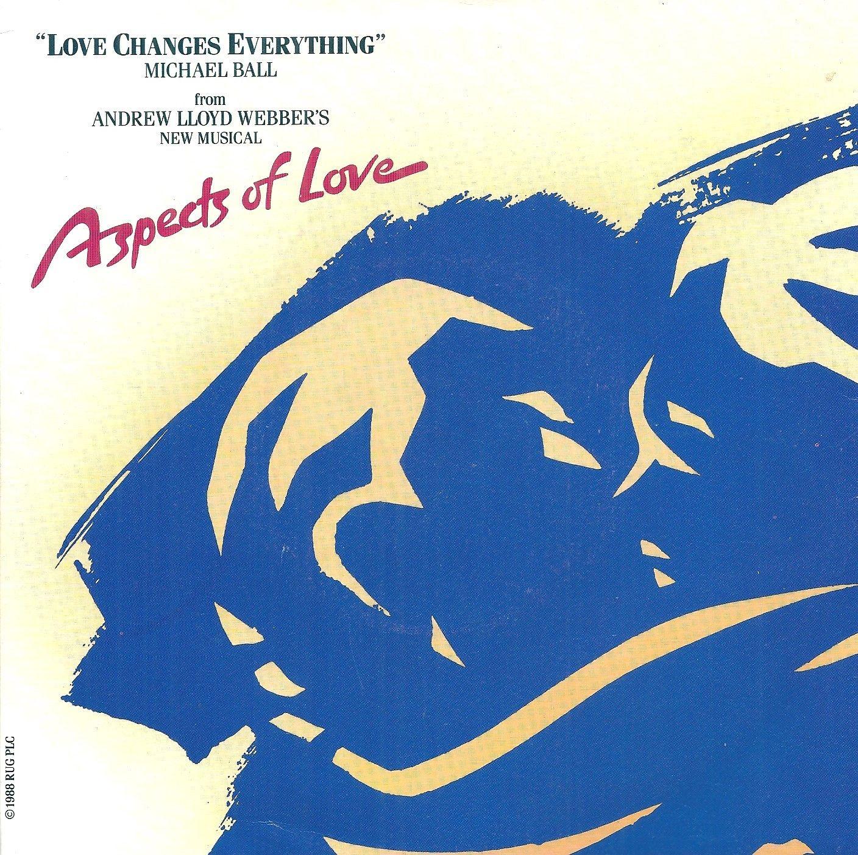 "Michael Ball  Love Changes Everything 7"" Vinyl 45rpm"