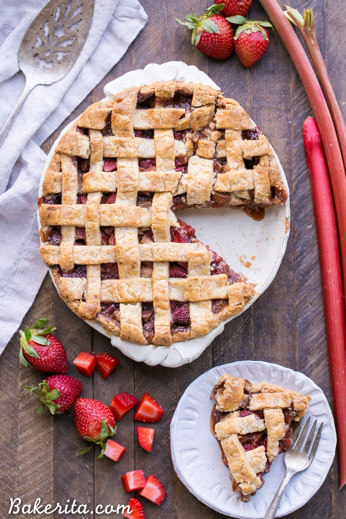 Paleo Strawberry Rhubarb Pie Recipe Strawberry Rhubarb Pie