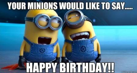041766078419b4710d77d42a398f4a87 download 100 happy birthday minions images, gifs, memes, quotes
