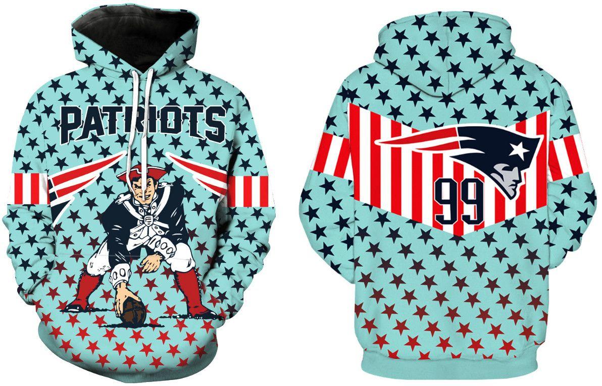 Men's New England Patriots Pullover Hoodie 1 | New England Patriots  hot sale