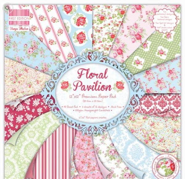 Premium Cardstock First Edition 12x12 Designer Paper Pad Beyond The Shore