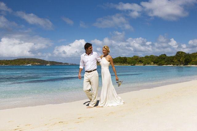 Caneel Bay St John Usvi Beach Wedding