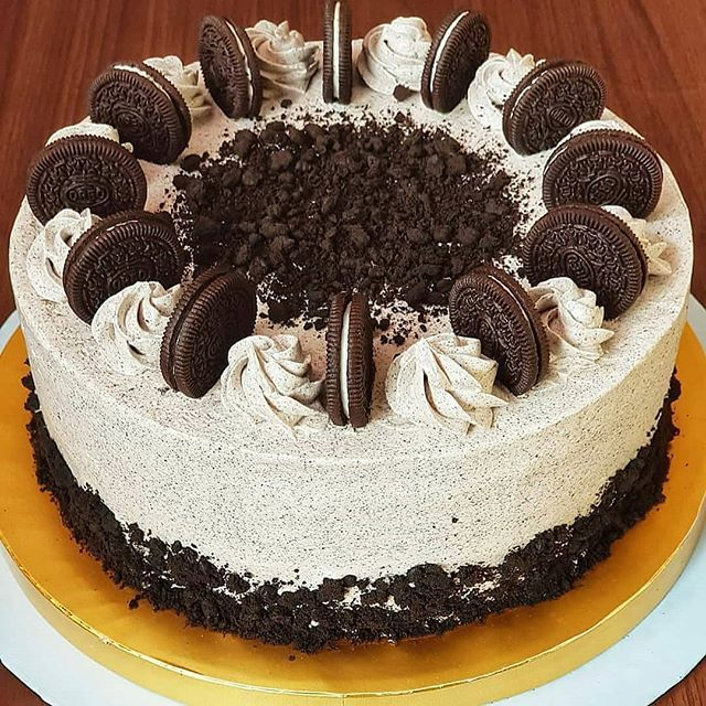 Resep Oreo Cake By Fen Z Bahan Sponge Cake Coklat 10 Butir