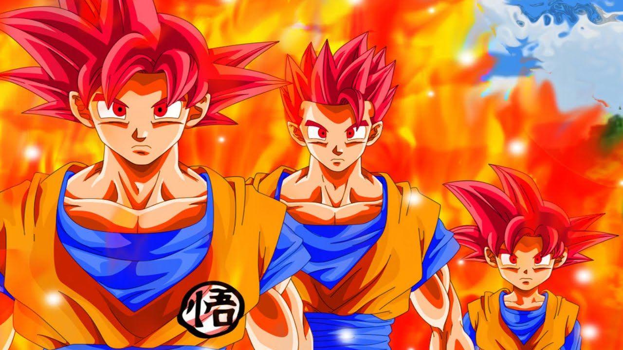 Goku Super Saiyan Gods Wallpaper Goku Gohan Goten Ssj Goku