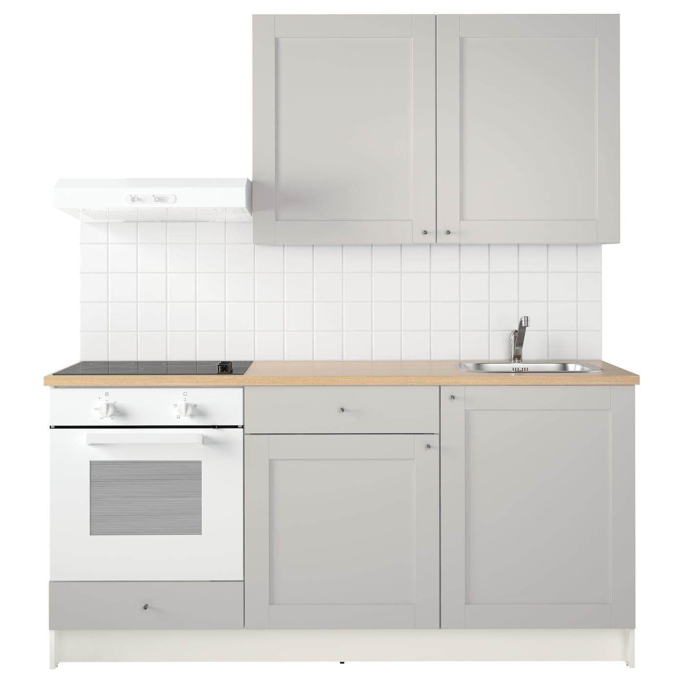 Knoxhult Kokken Gra Ikea In 2020 Schrank Kuche Graue Kuchen Kuchenprodukte