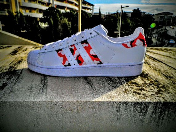 Adidas SUPERSTAR Camo Bape CUSTOM | Adidas superstar camo