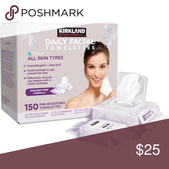 New Kirkland facial towelettes New in box Kirkland facial