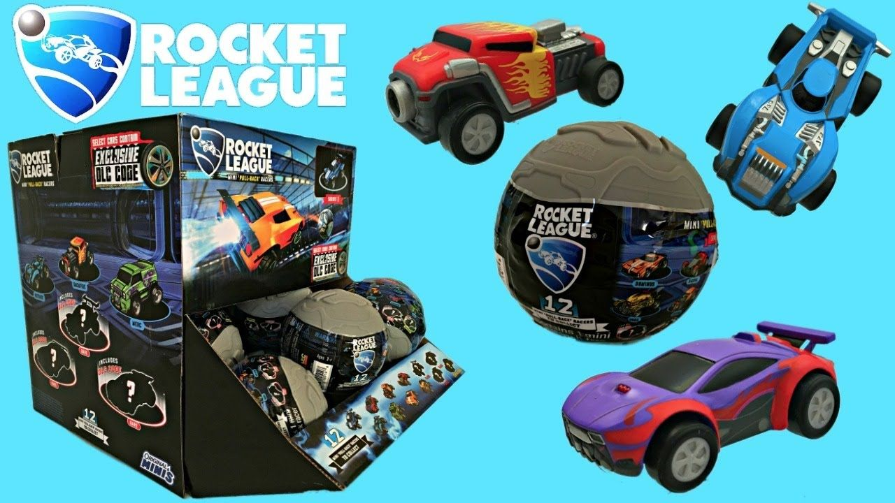 Rocket League Cars, PullBack Racers and Code Items