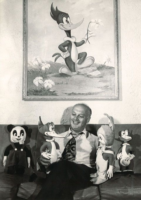Dick van dyke and the woodpecker