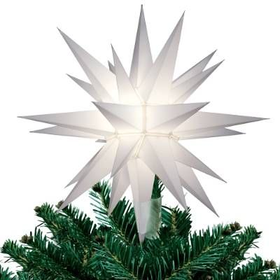 No tree is complete without our dazzling Lighted Star Christmas Tree