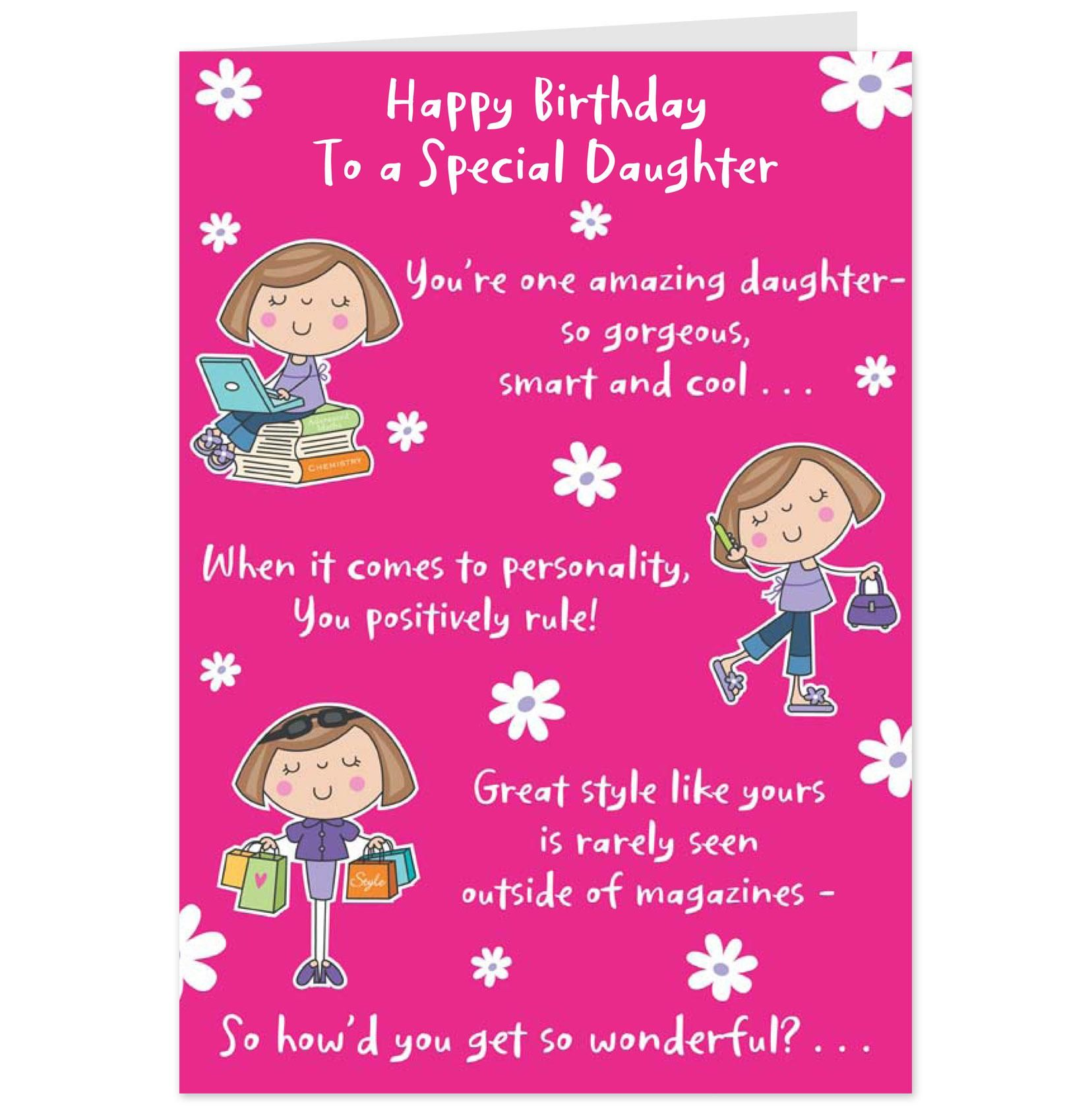 funny happy birthday daughter quotes Google Search – Birthday Card Quotations