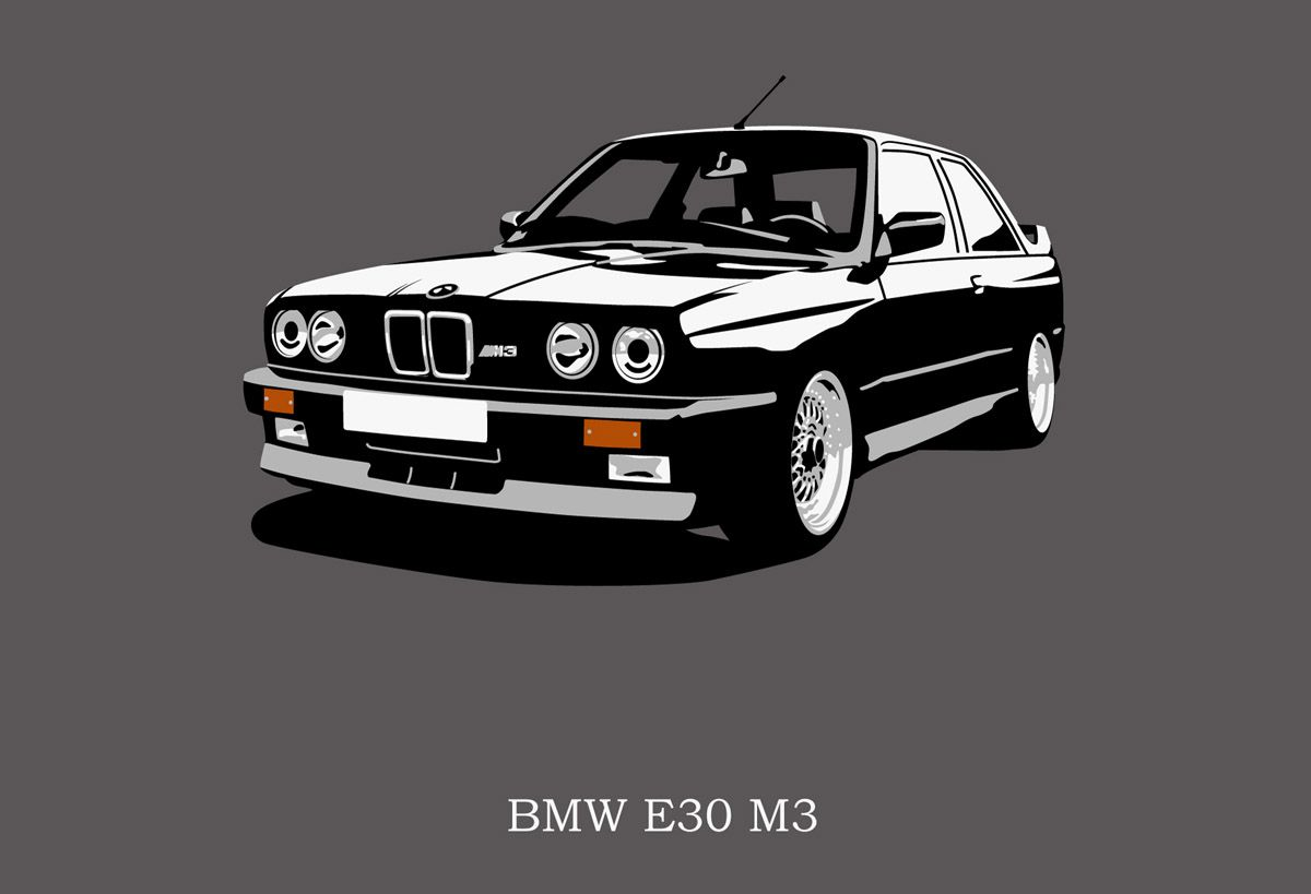 Epic Bmw E30 M3 With Images Bmw Art Bmw E30 Bmw Classic Cars