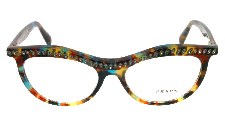 amazoncom prada eyeglasses vpr 22p tortoise nag 1o1 vpr22p prada