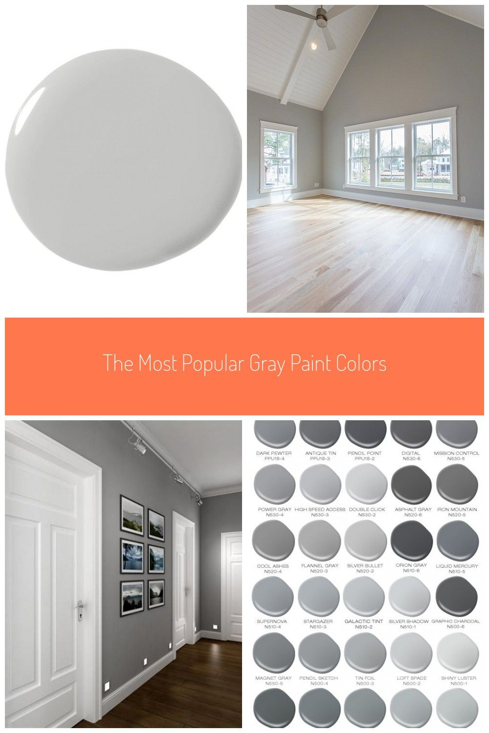 The Most Popular Gray Paint Colors Life Love Shiplap Grey Paint The Most Popular Gr In 2020 Popular Grey Paint Colors Grey Paint Colors Dulux Paint Colours Grey