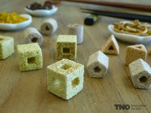 Spice Bytes by TNO : 3D-Printed Food Is Beginning to Look Beautiful | Motherboard