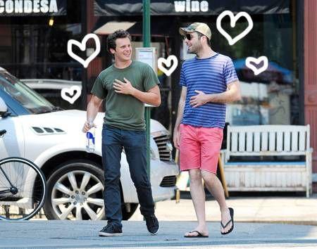 Jonathan groff y su novio zachary quinto dating
