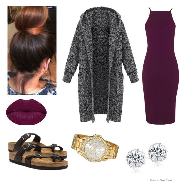 """""""Untitled #94"""" by jadechanteon on Polyvore featuring Topshop, Birkenstock, XOXO, Icz Stonez and Winky Lux"""