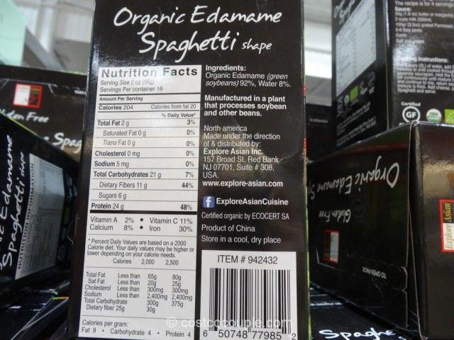 Organic Edamame Spaghetti Costco Edamame Spaghetti Edamame Spaghetti