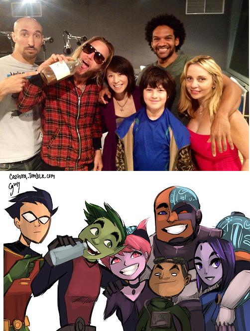 Titans Redraw 18  Teen Titans  Teen Titans, Teen, Bbrae-8778