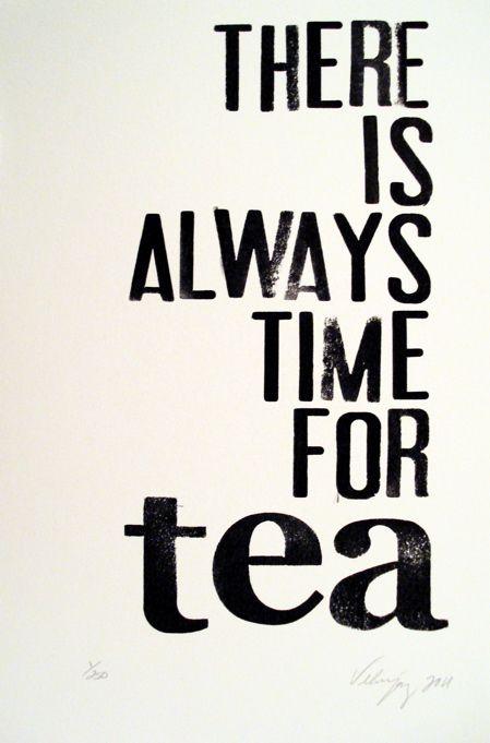 It is time for tea. Enjoy it!    #hyleys #greentea #drinktea #blacktea #tea #teaquotes #tealovers